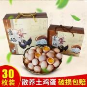 富硒土鸡蛋养殖场批发鸡蛋 新鲜山地生态土鸡蛋供应销售